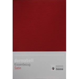 dormabell Kissenbezug Satin bordeaux