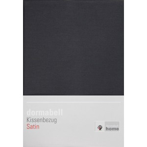 dormabell Kissenbezug Satin anthrazit