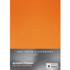 dormabell Premium Kissenbezug Jersey orange